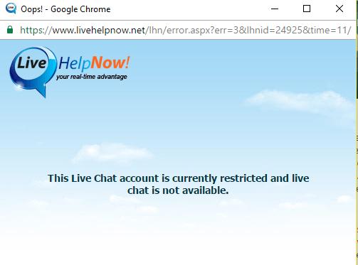 Customer Service Support via Live Chat on Kamagrauk.com