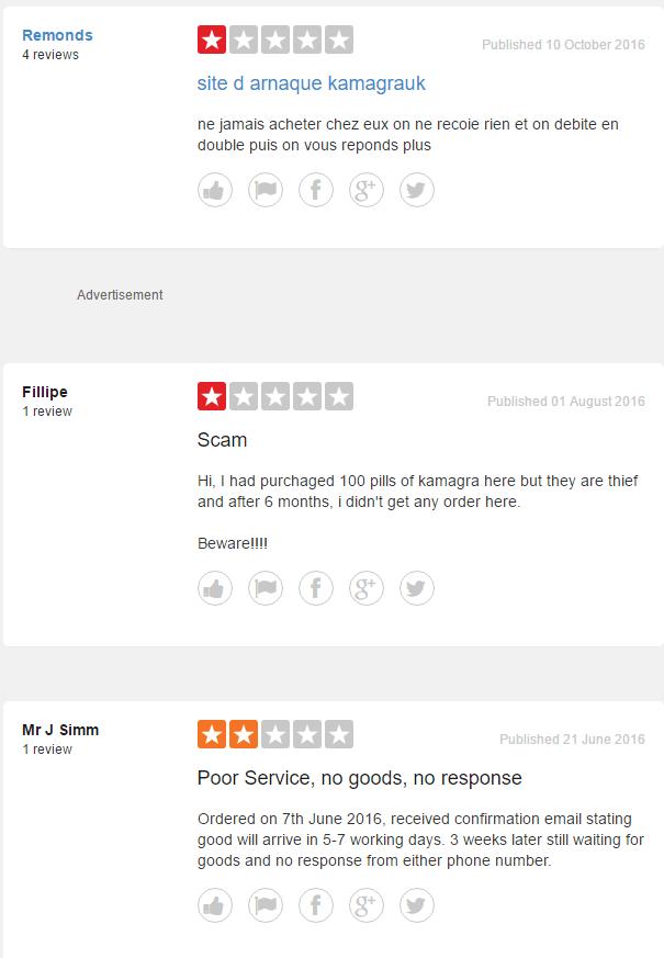 Kamagra Uk Reviews 2016