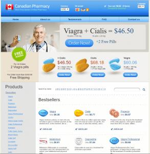 Live-Drugstore.com Design