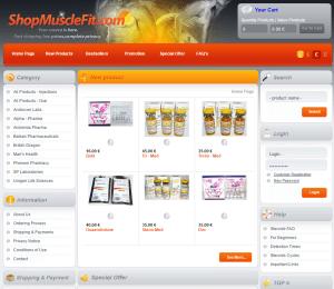 Shopmusclefit.com Home