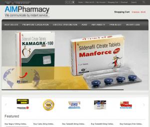 Main Page of Aimpharmacy.com
