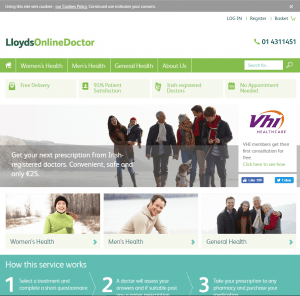 Lloydsonlinedoctor.ie Main