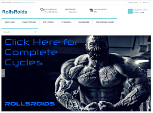 Front Page of Rollsroids.com