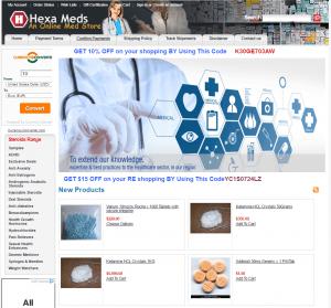 Home of Hexameds.com
