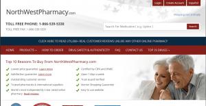 Northwestpharmacy.com Home Page