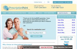 Prescriptionpoint.com Front