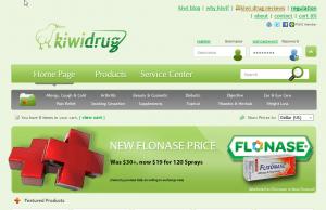 Kiwidrug.com Design