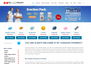 Mycanadianpharmacyrx.com Design