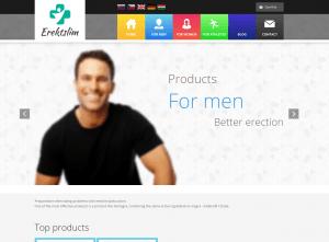 Erektslim.com Design