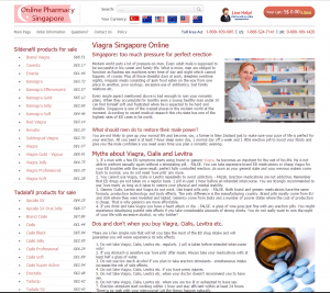 Viagra-singapore.com Front
