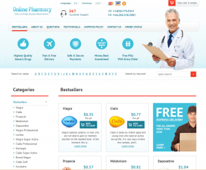 Onlinepharmacy-24h.com Home Page