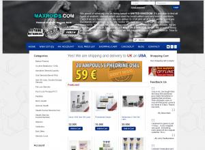 Maxroids.com Design