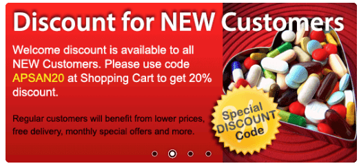 Discounts for New Customers on Anabolic-pharma