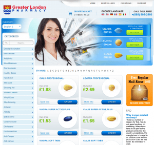 Greaterlondonpharmacy.com Design