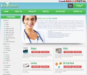 Eu-Meds.net Front End
