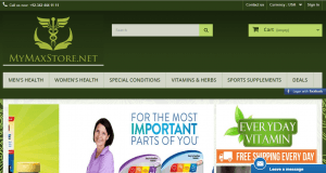 Home Page of Mymaxstore.net