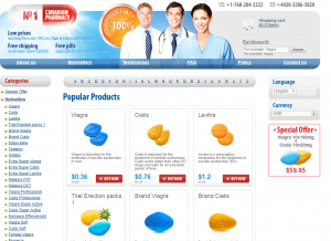 Front Page of Drug-store-24h.com