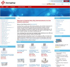 Home Page of Scheringshop.com