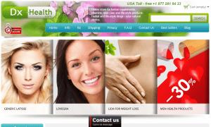Dx-Health.com Main Page