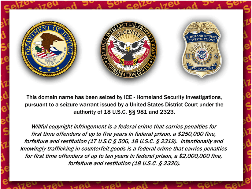 Tl-pharmacy.com is Seized by ICE