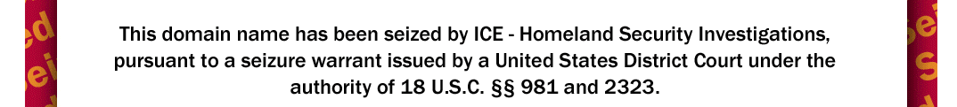 Pharmonlineshop.net has been Seized by ICE