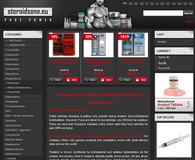 Steroidsone.eu Main Page