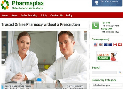 Privatepharmacy.net Main Page