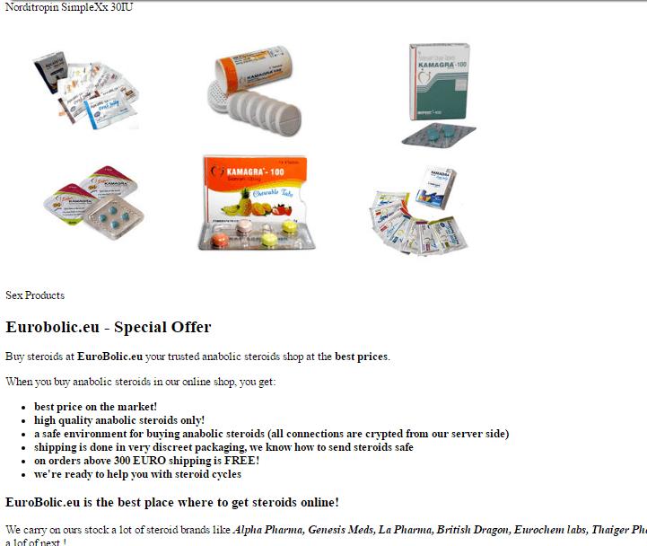 Eurobolic.eu Main Page