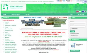 Fitness-Pharma.com Main Page