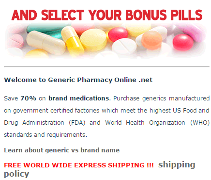 Generic-Pharmacy-Online.net Free Pills Offer