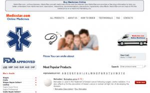Medicstar.com Main Page