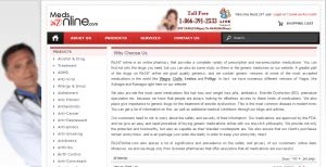 Meds247online.com Main Page