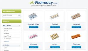 Ok-pharmacy.com Main Page