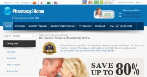 Pharmacy2home.com Main Page