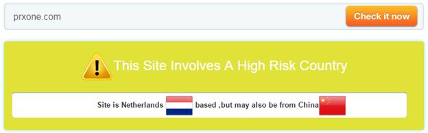 Prxone.com Trust Rating