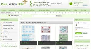 Puretablets.com Main Page