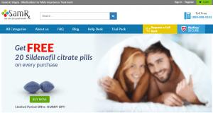 Samrx.com Main Page