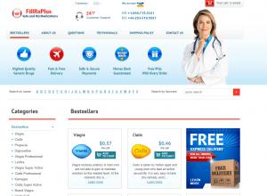 Fillrxplus.net Website Design