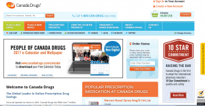 Canadapharmacytrust.com Main Page