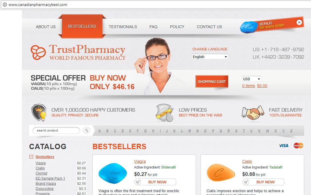Trust Pharmacy Canadianpharmacybest.com Homepage