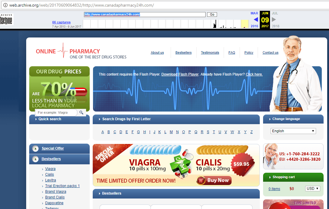 Canada Pharmacy 24 (Canadapharmacy24h.com) Home Page
