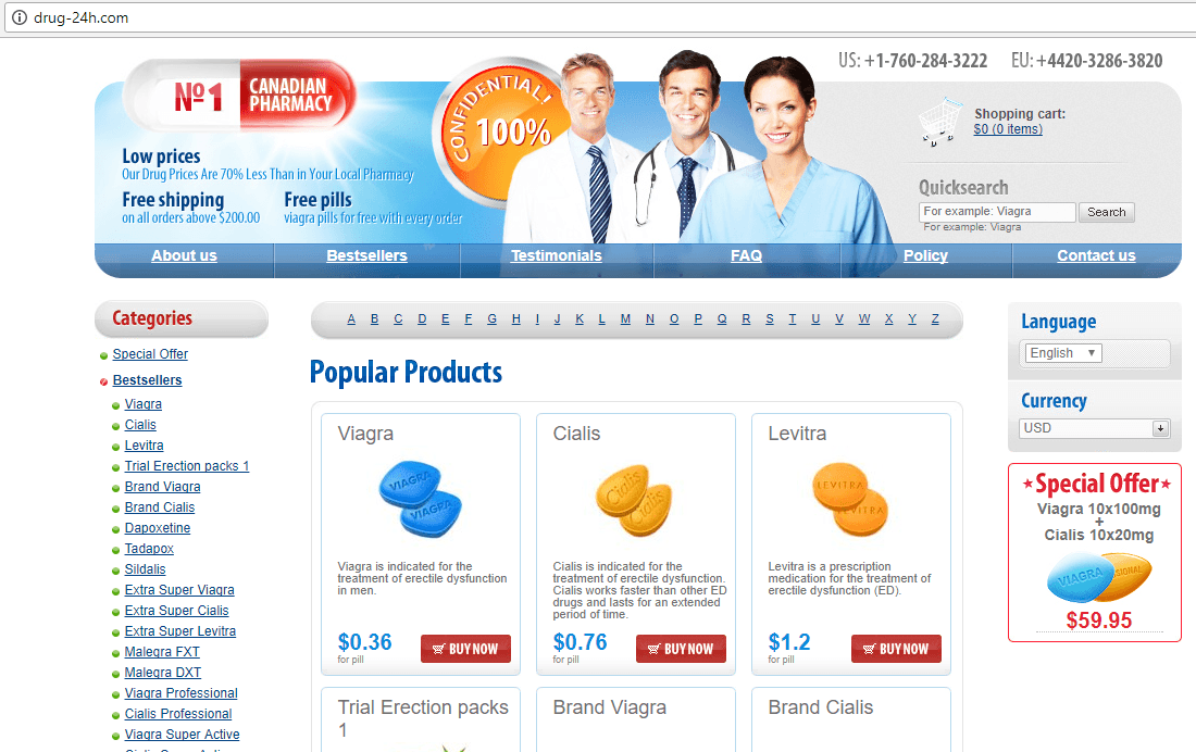 N1 Canadian Pharmacy (Drug-24h.com) Home Page Home Page