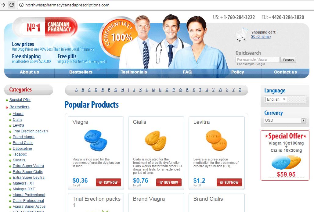 N1 Canadian Pharmacy (Northwestpharmacycanadaprescriptions.com) Home Page