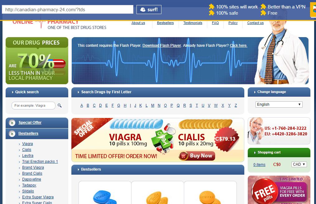 Canadian Pharmacy 24 (Canadian-Pharmacy-24.com) Main Page