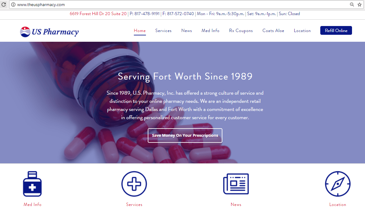 The US Pharmacy Homepage