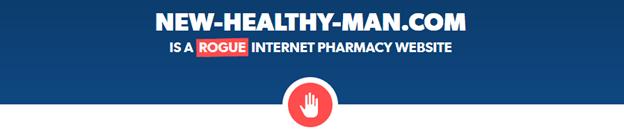 New-Healthy-Man.com is a Rogue Website