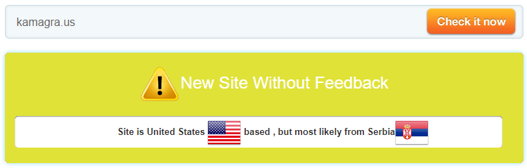 Kamagra.us is a New Site Without Feedback
