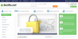 Sunrx.net Home Page
