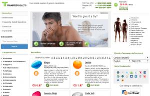 Trustedallovertheworld.com Main Page