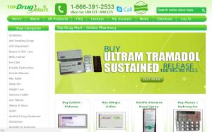 TopDrugMart.com Main Page